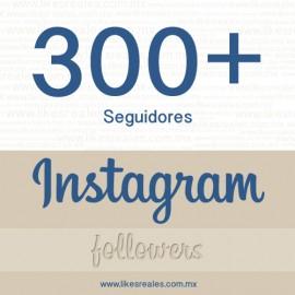 Paquete 300 seguidores Instagram