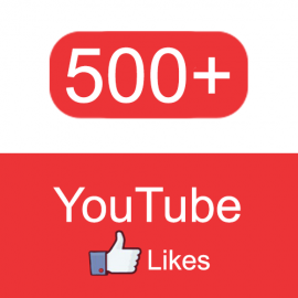 Paquete 500 Youtube Likes